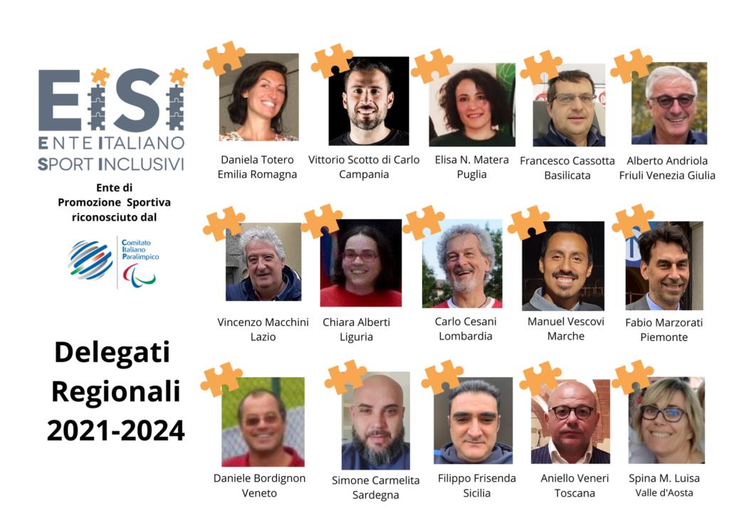 Delegati Regionali EISI